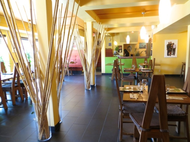 Padmanadi Vegetarian Restaurant is an oasis of calm in downtown Edmonton