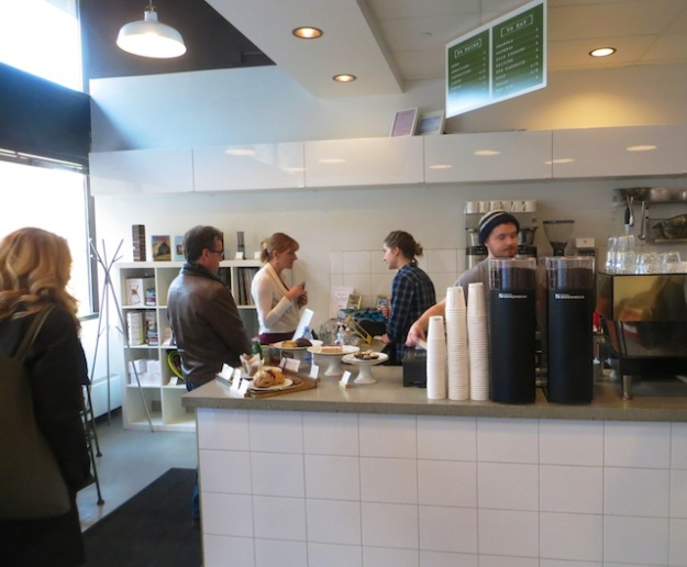District Coffee is in slightly larger digs than its Elm Cafe sibling