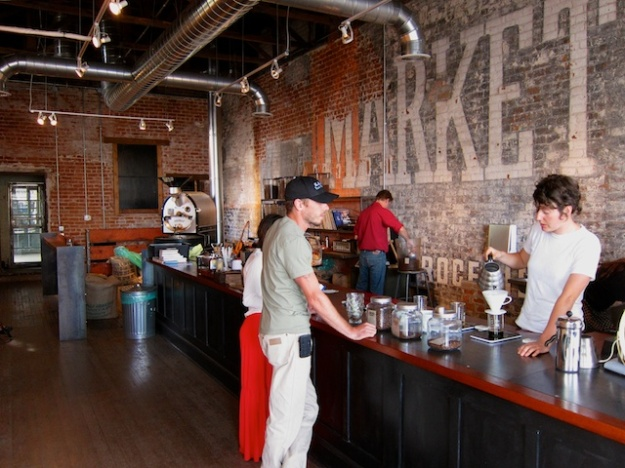 EXO Roast in Tucson, Arizona is a superb example of translating history into a funky cafe