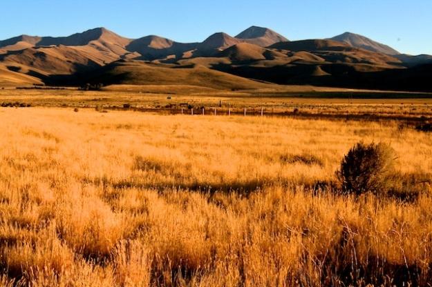 The lovely, broad valley near Dillon, Montana
