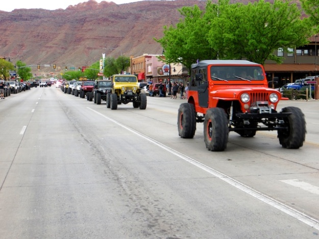 The Jeep Festival takes over Moab, Utah in late April