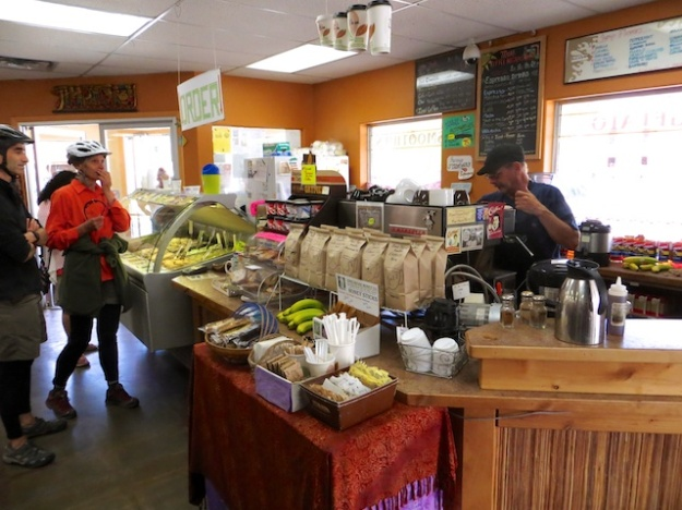 Moab Coffee Roasters does a bustling business of java in the morning and gelato in the afternoon