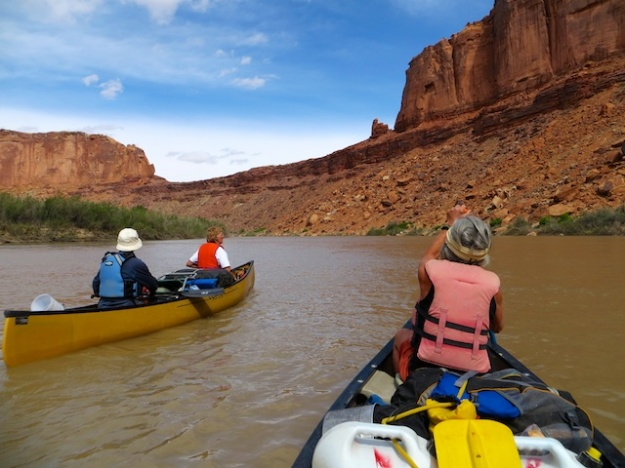 Great, leisurely paddling down Utah's Green River