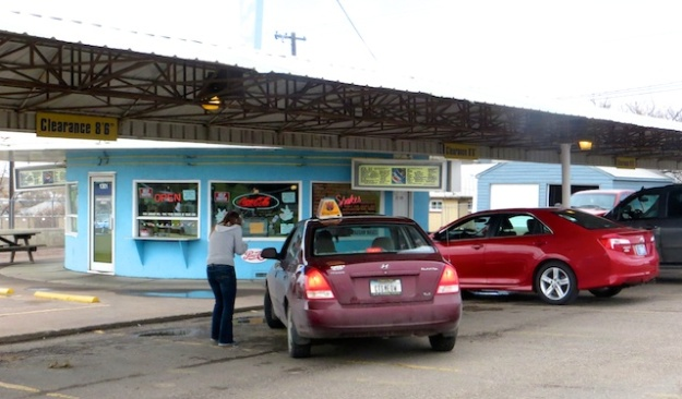 Old-style drive-in lives on in Great Falls, Montana