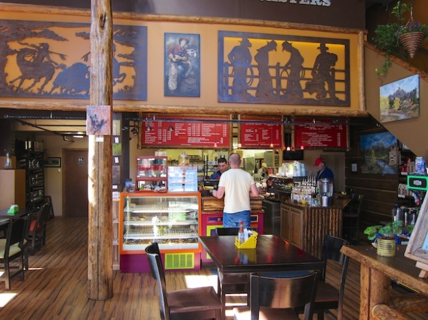 Enjoy a fresh-roasted java at Jackson Hole Coffee Roaster