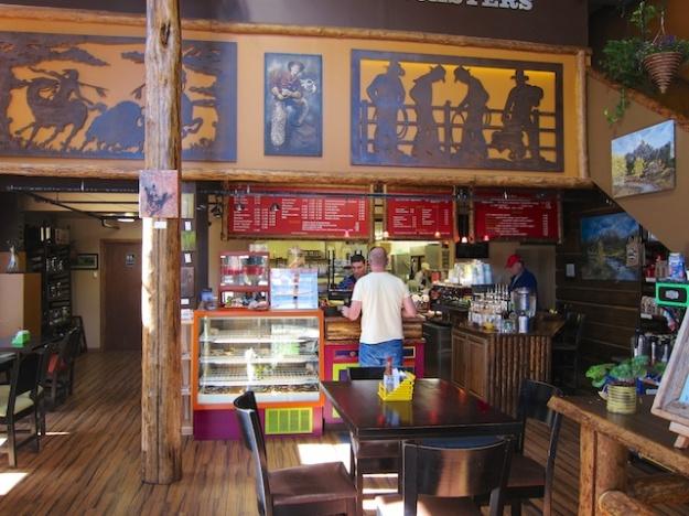 Enjoy a fresh-roasted java at Jackson Hole Coffee Roaster