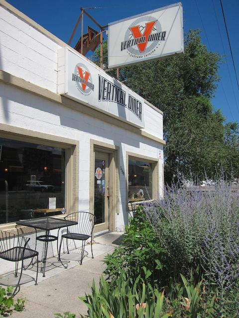 Vertical Diner is a funky vegetarian place on a south Salt Lake City industrial street
