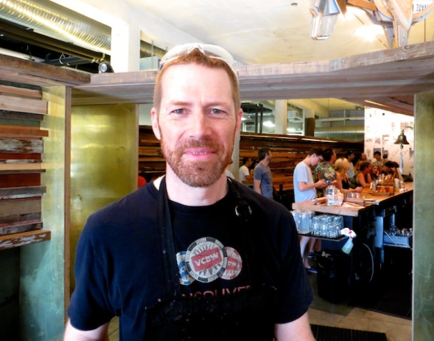 Brassneck Brewery co-owner Conrad Gmoser.