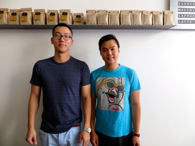 The guys behind uber-cool Timbertrain Coffee Roasters in downtown Vancouver