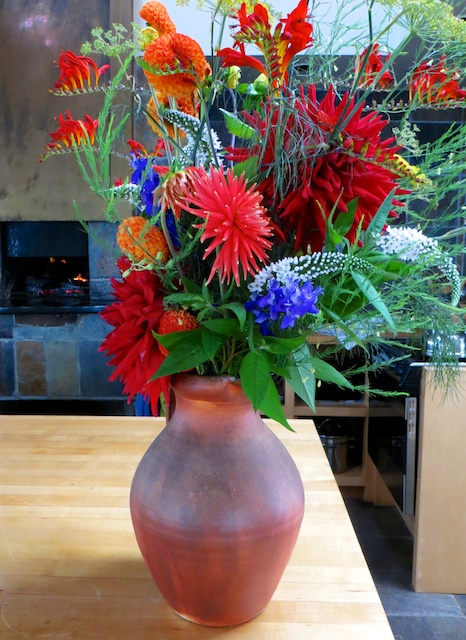 Even if you can't eat it, you can admire the exquisite beauty of an $11 bouquet from Farm Gate Store on Mayne Island