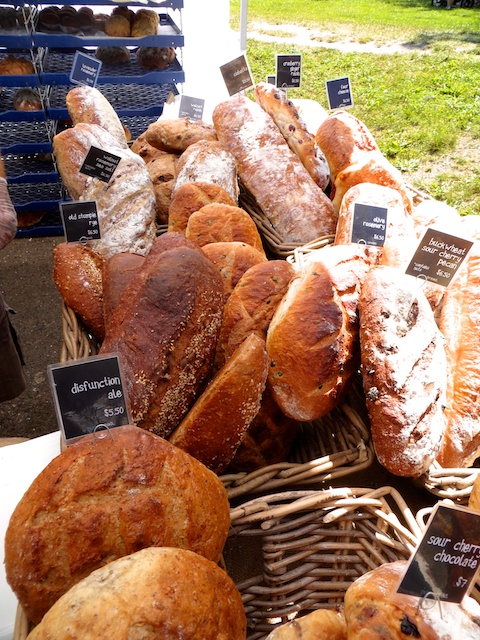 purebread's star-studded lineup at the weekly Kitsilano Market in Vancouver
