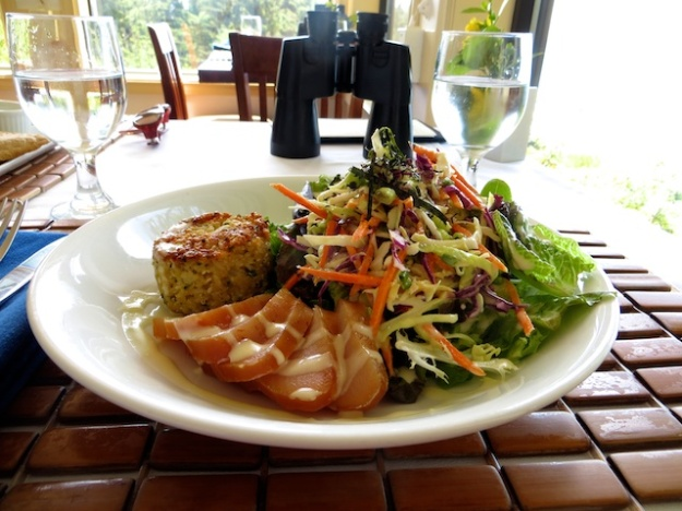 Smoked albacore tuna salad at Point No Point Resort, west of Sooke, B.C.