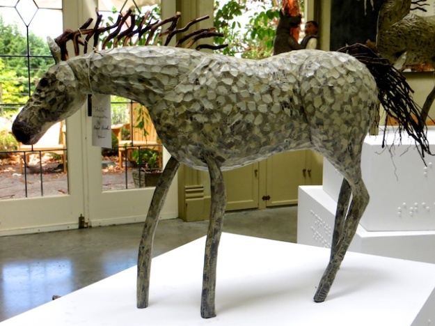 The Blue Horse Folk Art Gallery is what Salt Spring Island is all about