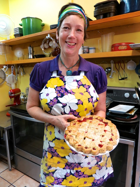 At Jana's Bake Shop, this fragrant fruit pie has already been sold, alas