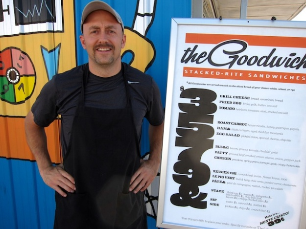 Josh ... is putting high-end ingredients into most affordable sandwiches at The Goodwich, in Las Vegas