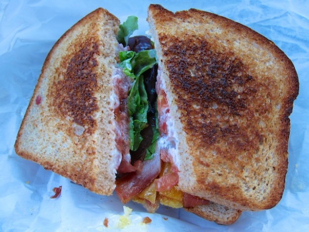 You won't find a better BLT than this one