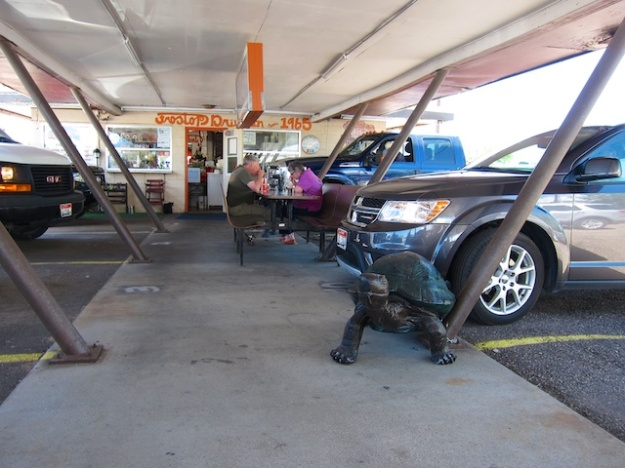 Frostop Drive-In has been providing car-window service since the 1960s.