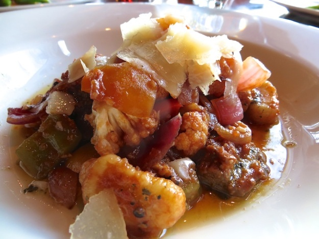 How about a succulent smoked bison ragout on house-made gnocchi?