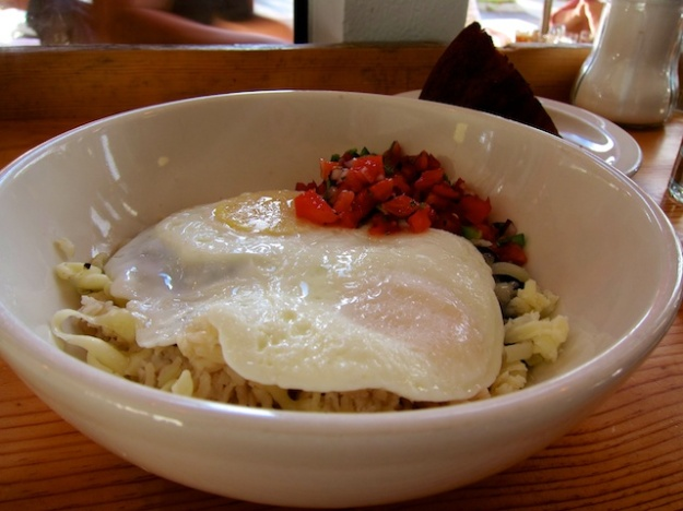 A delicious, healthy bowl of Texas eggs