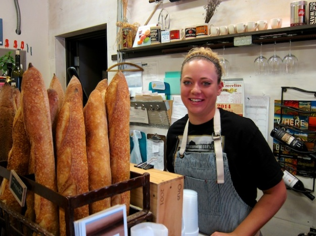 Good breads, pastries and sandwiches at the Walla Walla Bread Company