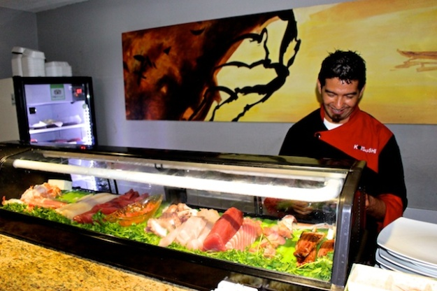 Jose Angel Huerta is the mad genius at Koi Sushi