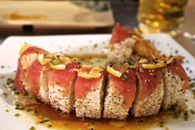 Astounding sushi in a walmart mall in cabo san lucas for Koi restaurant los angeles