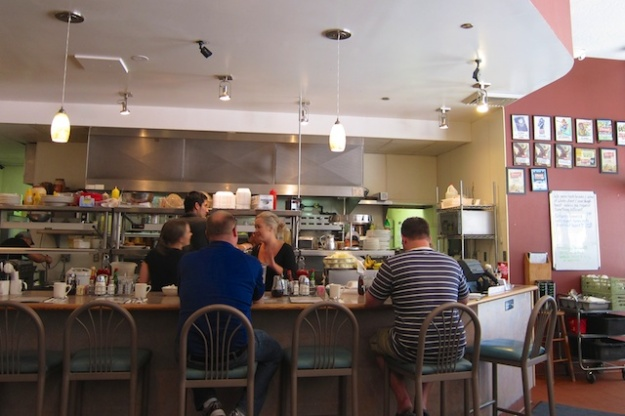 Peg's is a bright yet cozy breakfast spot