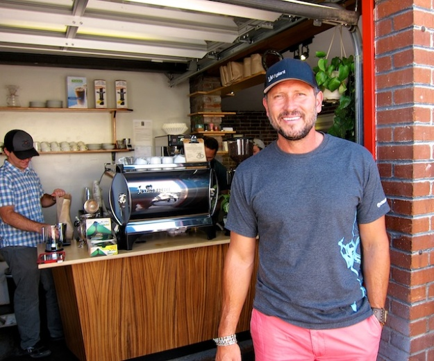 Mark Trujillo runs cool Hub Coffee Roasters near downtown Reno, Nevada
