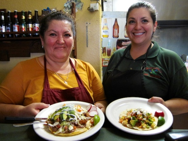 Bertha Moreno and daughter Jessica serve up fabulous fare at Morenita's Mexican Restaurant