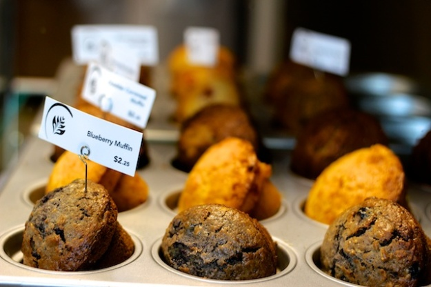 Half a dozen types of excellent muffins steadily emerging from the kitchen makes Edmonton's Credo a special coffeehouse