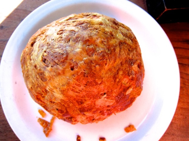 Gorgeous, gooey gougere at glorious Tartine Bakery & Cafe in San Francisco