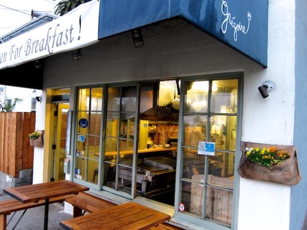 The entirety of Gregoire Restaurant in Berkeley, California