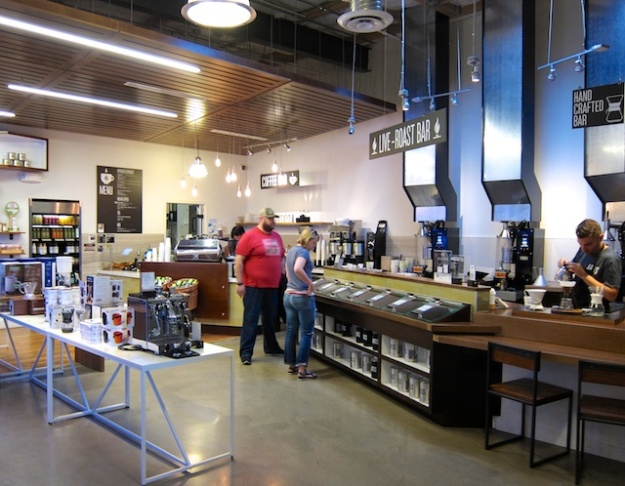 Artis offers a full-coffee experience, including custom bean roasting