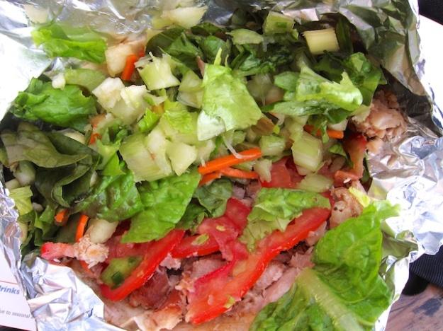 Ruddell's signature smoked albacore tuna taco
