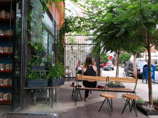 Yes, this is the downtown Los Angeles area at Blacktop Coffee