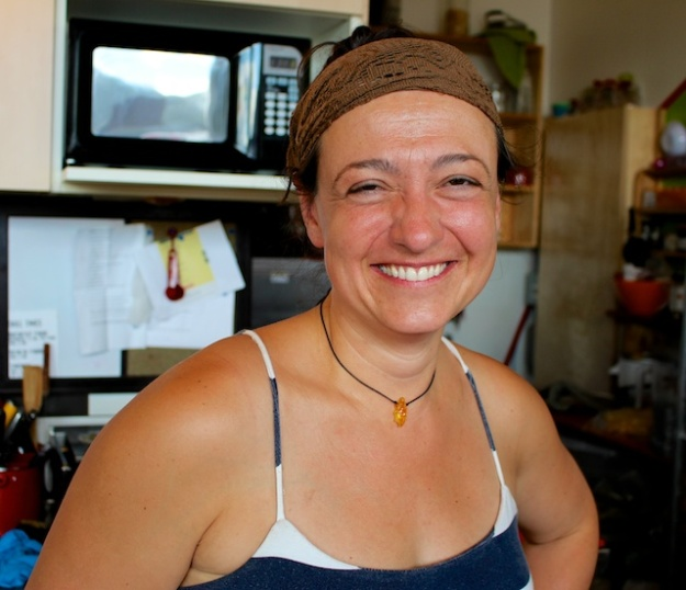 Heike Graf runs the first-rate Caribou Crossing Coffee