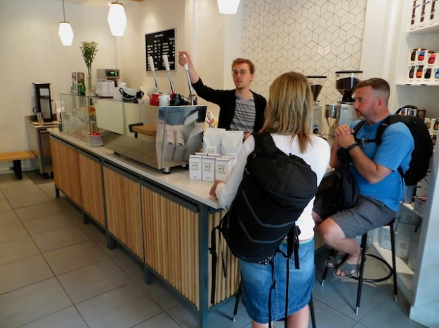 Coffee Bureau is just one of the new cafes that has popped up in Edmonton