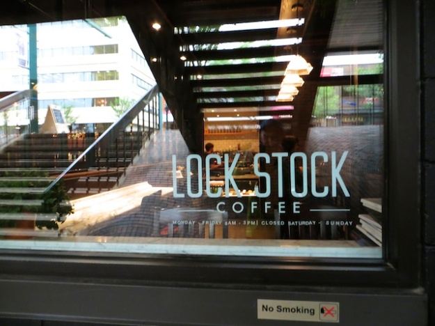 Lock Stock Coffee is a little basement space attached to Red Star Pub