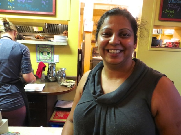 Goldie Sanghera runs the show at Paramjit's Kitchen in Revelstoke, B.C.