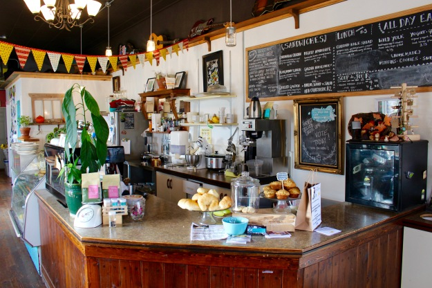 A nice blend of contemporary and vintage at the Wild Oak Cafe in Armstrong, B.C.