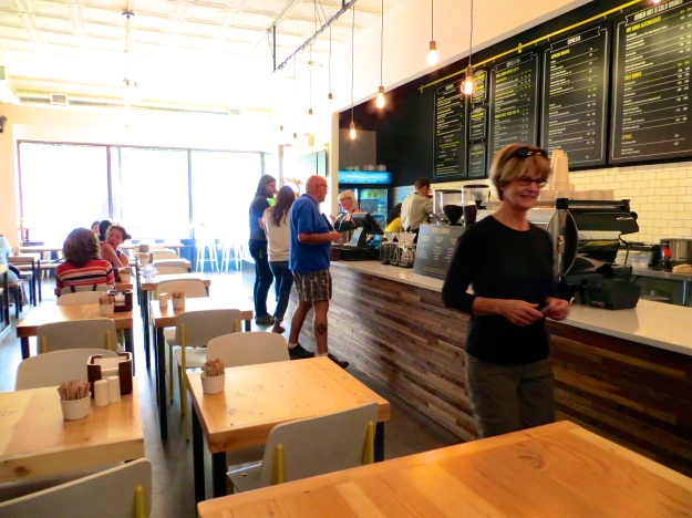Bread Milk & Honey is a lovely, renovated lunch spot in Lethbridge, Alberta