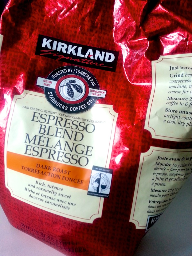 Yes, it's not as fresh or flavourful, but a big bag of Kirkland/Starbucks coffee beans is certainly much cheaper