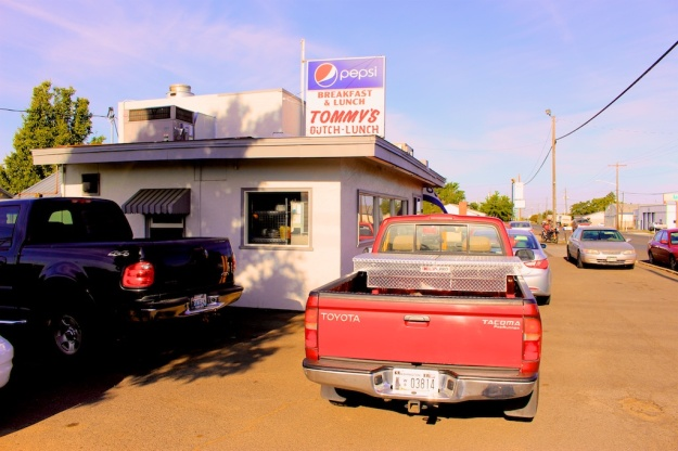 Tommy's Dutch is a great breakfast diner in Walla Walla, Washington