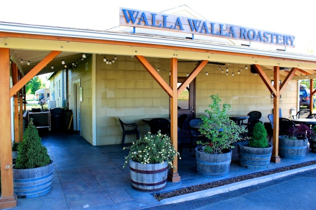 Walla Walla Roastery is where I had my baptismal nitro cold-brew coffee. It's a lovely, verdant spot to while away an hour