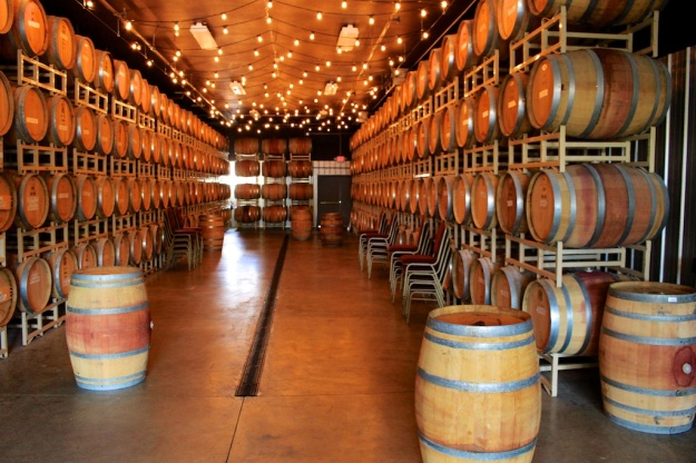 Don't worry. The wine is produced the conventional way, aging in barrels