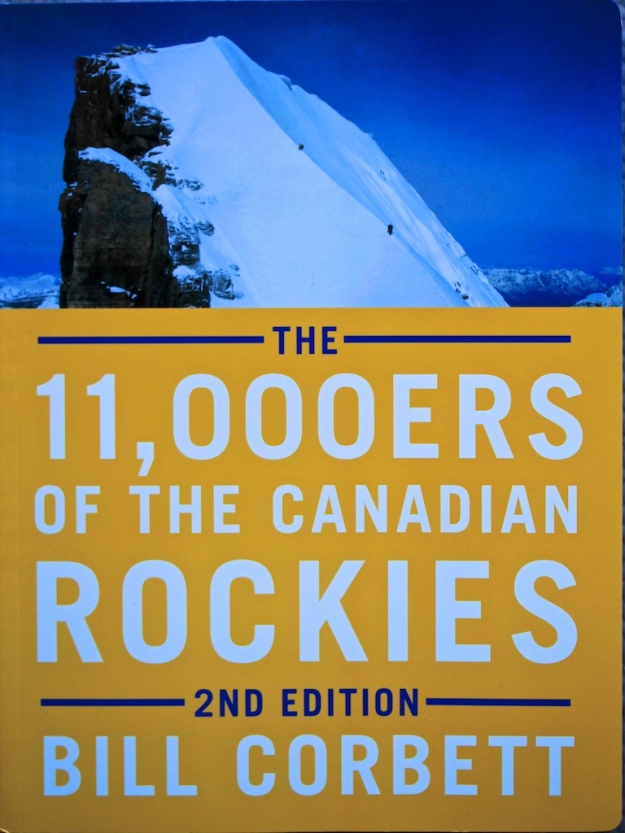 A new edition of my 11,000ers of the Canadian Rockies book