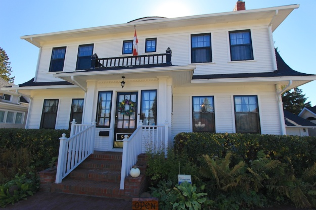 Morrison House Cafe is located in a stately, historic downtown Lacombe house