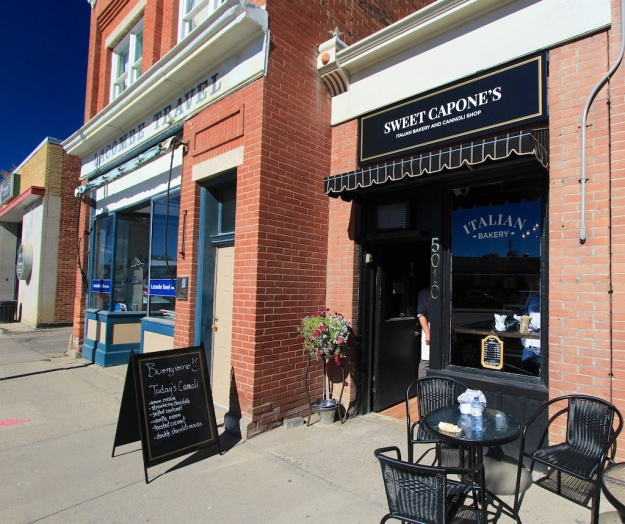 Sweet Capone's is on historic, brick row in downtown Lacombe