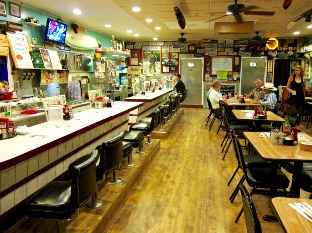 The World Famous Coffee Cup—in Boulder City, Nevada—is a classic diner