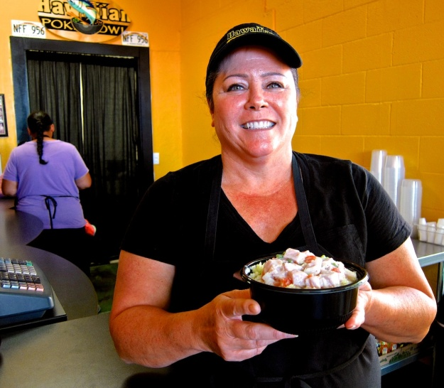 Roberta D'Amado is introducing Utah consumers to Hawaiian poke dishes at her St. George restaurant